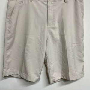 Adidas Climalite Khaki Golf Shorts Stretch